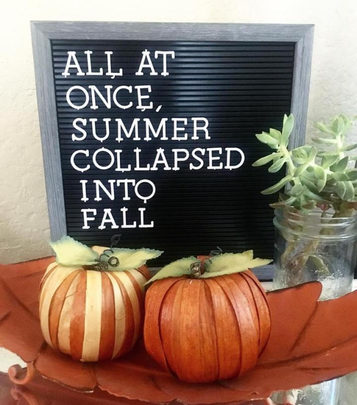 Fall Tradition Ideas