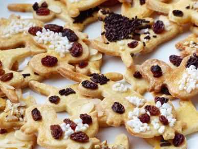 sugar easter sweet cookies